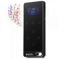 RUIZU X05 8G Digital MP3 Player Touch Screen Music Player Pedometer FM Stereo Radio Support FM Ratio black