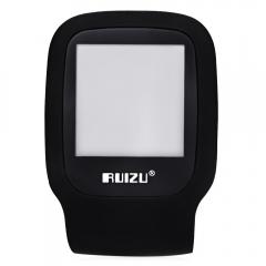 RUIZU X09 FM Radio 1.5 Inch TFT LCD Screen TF Card Sport MP3 Player Build in Speaker with E-Book black