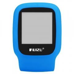 RUIZU X09 FM Radio 1.5 Inch TFT LCD Screen TF Card Sport MP3 Player Build in Speaker with E-Book blue