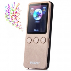 RUIZU X08 8GB 200 Hours Digital MP3 Player Music Vedio Player Supporting TF Card FM Stereo Radio golden