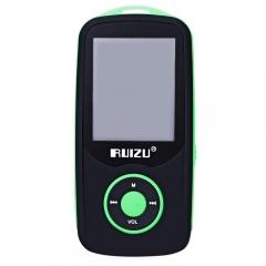 RUIZU X06 FM Radio 1.8 Inch TFT LCD Screen Sport MP3 Player Build in Speaker green