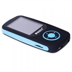 RUIZU X06 FM Radio 1.8 Inch TFT LCD Screen Sport MP3 Player Build in Speaker blue