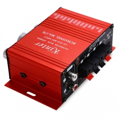 MA - 170 Mini 12V 100W Hi-Fi Stereo Amplifier Booster DVD MP3 Speaker For Car Motorcycle Loudspeaker red 100W MA - 170