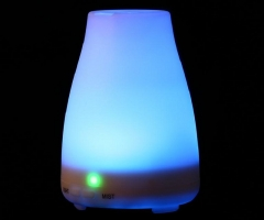NEW Ultrasonic Humidifier LED 7 Color Change Dry Protect Ultrasonic Essential Oil Aroma Diffuser