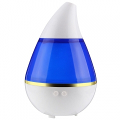Mini Portable Air Humidifier Water-Drop Shape LED Light Mist Maker USB Ultrasonic Humidifier