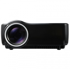 EMP- GP70 Portable 1200 Lumens Full HD High Power LED Projector Video Home Cinema Projector black one size