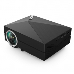 Hot Selling GM60A LCD Projector 1000Lm 800 x 480px HD DLNA Miracast Airplay Functional Home Theater black one size