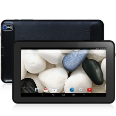 9 inch Android 4.4 Tablet PC Quad Core A33 1.3GHz WVGA Screen 8GB ROM Bluetooth WiFi Functions black