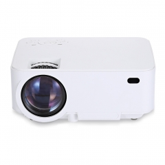 T20B LCD Projector 1500 Lumens for Home Cinema white us plug