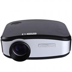 Cheerlux C6 LCD Projector 1200 Lumens 800 x 480 Pixels 1080P black eu plug