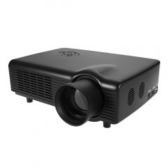 Co680 LCD Projector Media Player 2000 Lumens 800 x 600 Pixels for Home Office Education black eu plug
