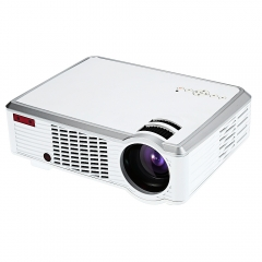 LED - 33 LCD Projector Media Player 2600 Lumens 854 x 540 Pixels for Home Office Education white eu plug