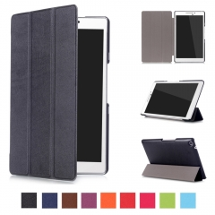 Ultra Thin PU Leather Tablet Protective Cover Auto Sleep for ASUS Zenpad Z370C 7.0 inch black ASUS Zenpad Z370C