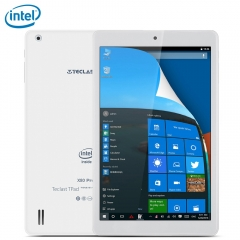 Teclast X80 Pro Tablet PC 8 inch IPS Screen Windows 10 + Android 5.1 Intel Cherry X5 Trail Z8350 white