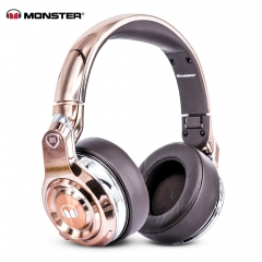 Monster Element Bluetooth 4.0 Over-ear Headband with Mic ROSE GOLD