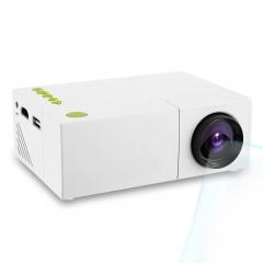 LCD Projector HD Resolution Multimedia LED Projection  EU white eu plug