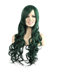 Ladies Women Long Curly Big Wavy Hair Heat Resistant Perma-long Cosplay Wig Moonar