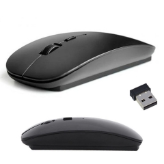 2.4 GHz USB Wireless Optical Mouse Mice Mause For Laptop PC Mac With Receiver balck one size