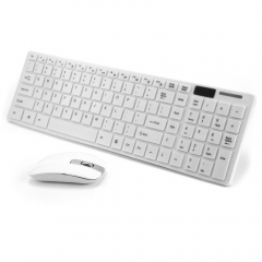 2.4G Optical Wireless Keyboard and Mouse Mice Combo Kit for Android TV Box Notebook PC MAC Computer black As shown in figure