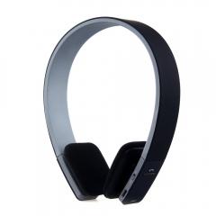 Smart Bluetooth 4.0 Headphone Adjustable Wireless Earphone Headphones Bluetooth Headset with MIC black