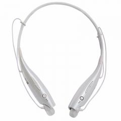Smart Bluetooth 4.0 Headphone Adjustable Wireless Earphone Headphones Bluetooth Headset with MIC white