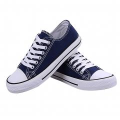 SWISSANT® Classic Low Top Canvas Sneakers Sport Leisure shoesTrainer Men Women Unisex Bestseller Dark Blue UK8