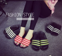 The Girls Style Couple Striped Slippers SWISSANT® red us5