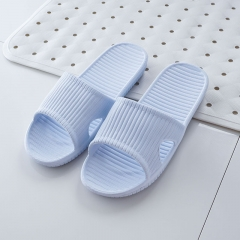 Women/Men Candy Color Indoor Summer Bathroom Slippers Non-slip Cute Casual Slippers SWISSANT® blue UK4.5