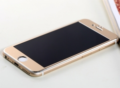 REMAX statue Core Series combo glass film for iPhone 6 / 6s / plus 0.3mm Hardened steel Gold iPhone6