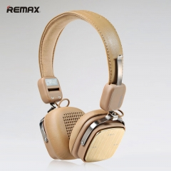 REMAX RB-200HB headset Bluetooth headset Bluetooth 4.1 standby 30 days to work more than 10 hours khaki