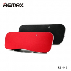 REMAX RB-H6 desktop Bluetooth speakers bass stunning surround sound 3D theater sound Black ONE Size