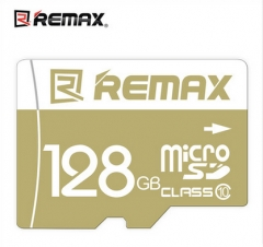 REMAX 128GB SPEED FLASH MICRO SDXC CLASS Memory Cards Gray remax 128GB