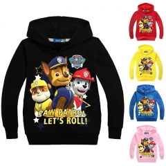 Fashion Cotton Long Sleeve Sweatshirts Zipper Coat Printed Kids Jackets Hooded Children's Clothing yellow 100cm