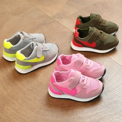 Brand Athletic Shoes LED Light Up Children Shoes Baby Girl Sport Shoes Nike Non-slip Boy Sneakers pink 21