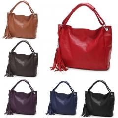 High Quality Brand Ladies Handbags Brand PU Leather  Italian Handbag For Women black 34cm*18cm*28cm