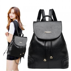 New multifunctional Backpack Of High Quality Women's Fashion Travel Bag School Back Packbags black 32cm*29cm*16cm