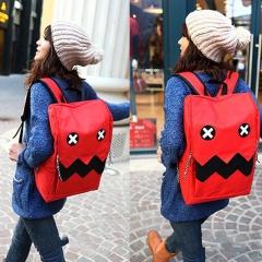 Cartoon Nylon Backpack Girl School Student Bag Casual Women Bag blue 31cm * 15cm * 44cm