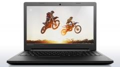 Lenovo Ideapad 110 Notebook Laptop: Free DOS, CORE i3 2.3GHZ, 4GB RAM, 1TB ROM, DVD RW - Ebony Black, 15 Inch