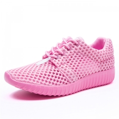 2017 New Breathable Mesh Woman Sports Sneakers Sport Shoes pink us5.5(22.5cm)