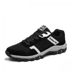 Men Brand Shoes Casual Shoes Mens Trainers Breathable Camo Shoes black us7.5(24.5cm)