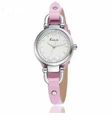 Ladies' Genuine Leather Japan Movement Watch - Pink