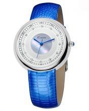 Elegant Luxury Rhinestone Ladies Watch - Blue