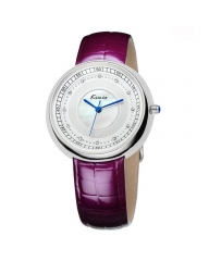 Luxury Rhinestone Ladies Watch  - Purple