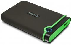 Transcend 1TB 2.5 inch USB 3.0 Military-Grade Shock Resistance Portable Hard Drive - TS1TSJ25M3 black, 1TB