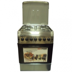 Hotpoint TF.6131/F6T31G2 3 Gas + 1 Electric Cooker - Stainless Steel