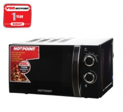 Hotpoint HMS-20MB Microwave Solo - Black - 20L