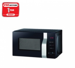 Von Hotpoint Solo Microwave Oven (HMS-201DS) - Silver Finish, 20 Litres, 700 Watts