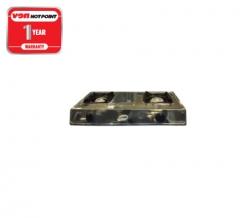 Von Hotpoint 2 Burner Table Top Gas Cooker (HPTT2012S)- Stainless Steel