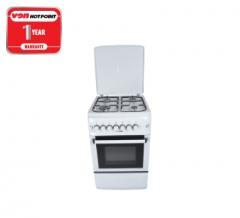 Von Hotpoint F5S40G2.W 4 Gas Cooker - White