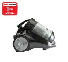 Von Hotpoint Vacuum Cleaner HVC-2518HK Cannister 2.5L Bagless - Metallic Black